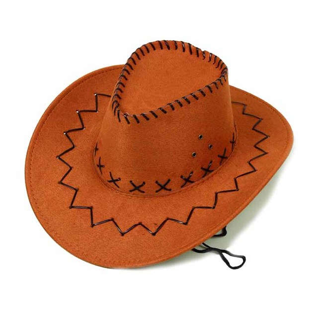 c02ed429b14395 Children Kids Baby Boy Girls Hats Jazz Bull Rider Cowboy Cowgirl Western  Travel Summer Hat Sunhat West Mens Ladies Cowgirl Hats
