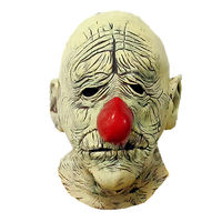 Старый клоун шутка маска Хэллоуин латекс страшно маска косплей маске тушь де латекс реалиста реалистично силиконовые Оптовая Ужас