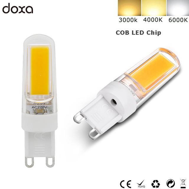 Replace Luz 8 3w 2609 110v Pack 4000k G9 Led In 220v Dimmable Bulb Light Lamp Us11 28Off 30w Lampe Halogen 6 Cob Bombillas Chandelier CQoBerdxW