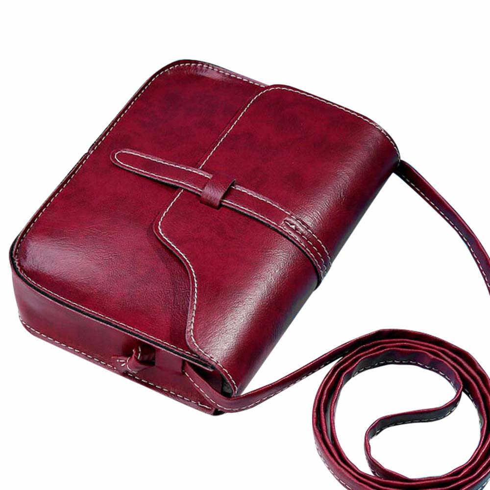 Multicolor Simples Saco Da Bolsa das mulheres Do Vintage bolsas de couro das mulheres Ombro Corpo Cruz mensageiro sacos bolsas mujer feminino