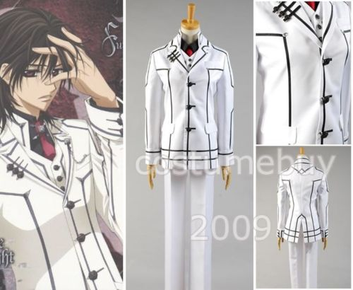 Vampire Knight Aristocrat Shiki Senri Cosplay Costume For Men Anime Halloween Costume