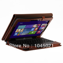 2016 hot sale tablet case For Asus Transformer Book T100TA T100 PU leather with Keyboard Portfolio Stand Cover for Asus Laptop