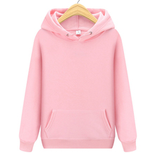 New Fashion Brand Men Hoodie Sweatshirt Solid color Men's Streetwear Hip hop Sweatshirts Men/Women Black white pink Hoodie