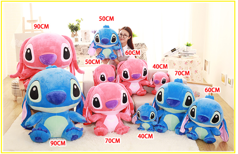 Big Stuffed Giant Cartoon Stitch Plush