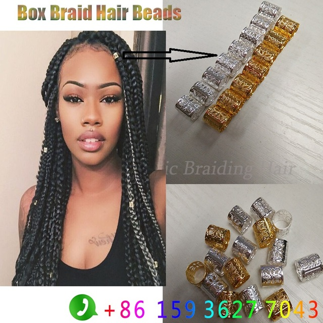 Newest Hair Beads Box Braids Metal Tube Micro Ring 1000 Pcs Lot