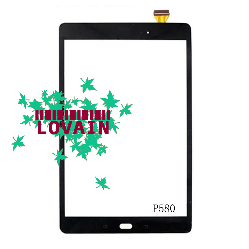 LOVAIN Original 10PCS DHL Free For Samsung Galaxy P585M Tab A 10.1 2016 S Pen P583N0 P585Y P580 Digitizer Touch Screen Panel