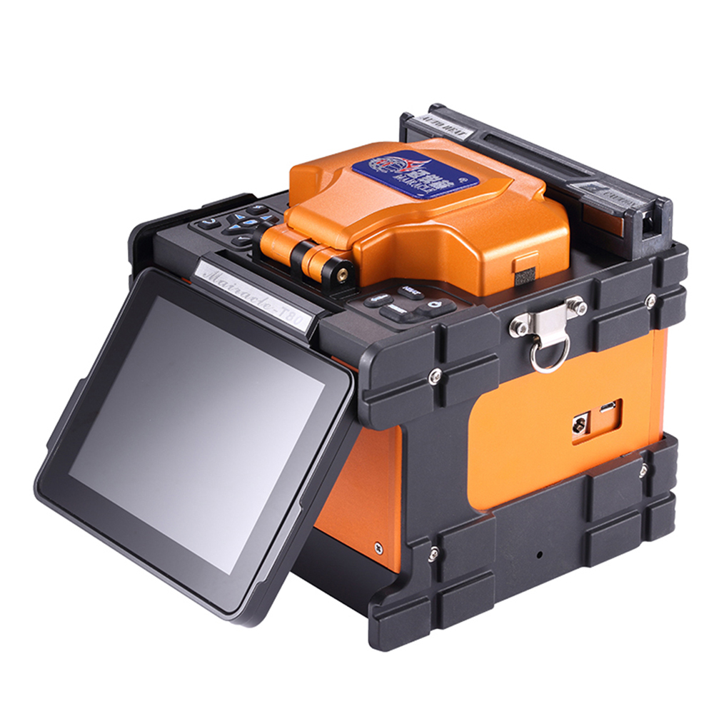 Fiber Optic Equipments Straightforward Guyang Gy-t60 Sm&mm Ftth Fiber Splicing Machine Optical Fusion Splicer Welding Machine