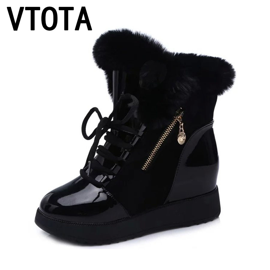 VTOTA Women Snow Boots 2017 Winter Boots Platform Shoes Women Botas Mujer Ankle Boots Martin Boots Spring Autumn Shoes E40 краски акриловые акрилэкс 6цв 20мл в баночках decart экспоприбор 24 6 20 50