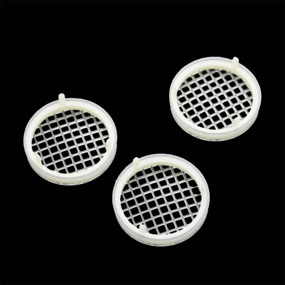 5 Pcs Beekeeping Tools Round Prisoners Wang Cage Prisoners Wang Plastic Cage White King Prisoner Cage Bee Tools