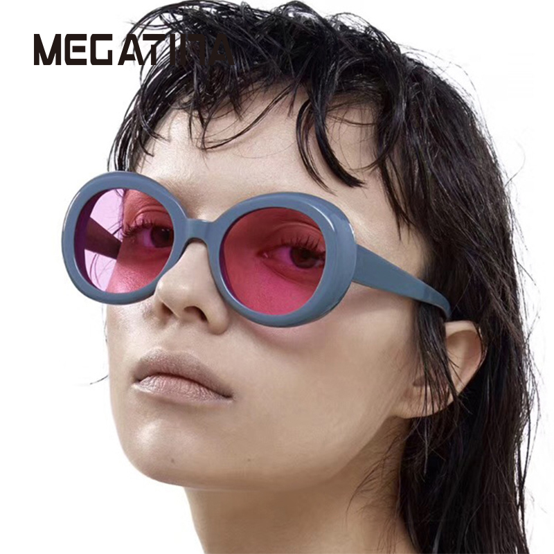 Megatina Clout Goggles NIRVANA Kurt Cobain Ronde Zonnebril Voor - Kledingaccessoires