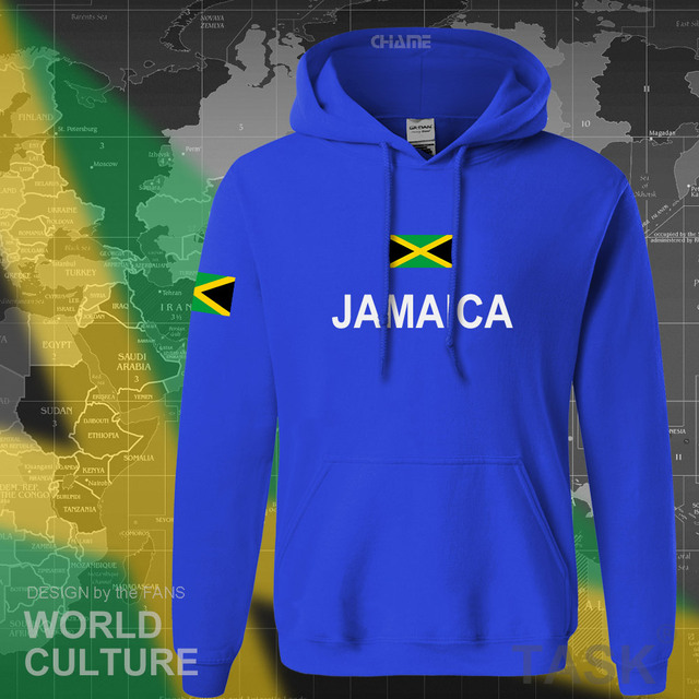 Jamaica hoodie men sweatshirt sweat new hip hop streetwear tracksuit nation footballer sporting country new flag JAM Jamaican 2