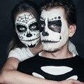 Branco Rosto Corpo Pintura Pintura de Segurança Desenho Pigmento à base de Óleo-Face Maquiagem Creme Colar Partido da Abóbora de Halloween maquiagem 28.3g