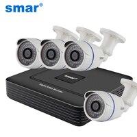 CCTV 4CH FULL 960H Realtime P2P HDMI H 264 DVR Video Surveillance System CMOS 700TVL Waterproof