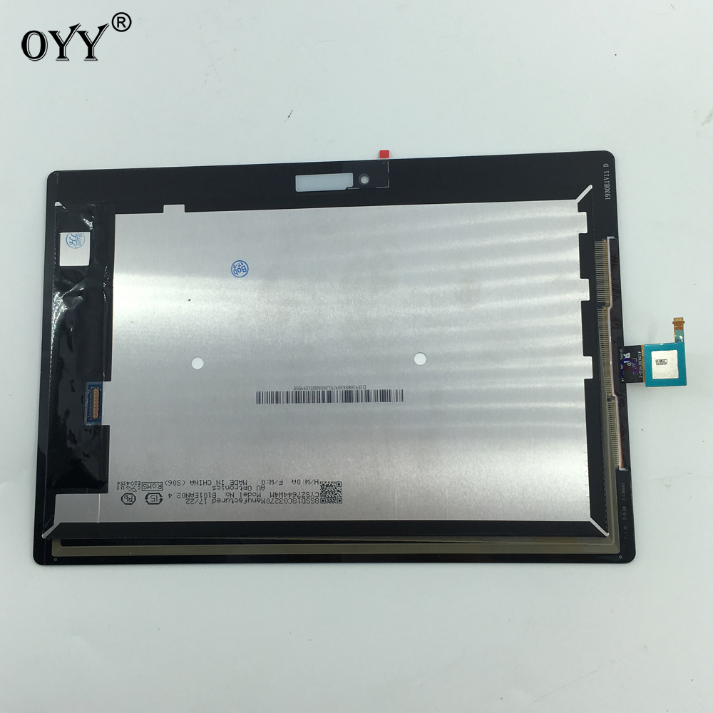 LCD Display Panel Screen Touch Screen Digitizer Glass Assembly for Lenovo Tab 2 A10-30 YT3-X30 X30F TB2-X30F x30 Black White for lenovo s939 lcd display with touch screen glass panel digitizer assembly black tools free shipping