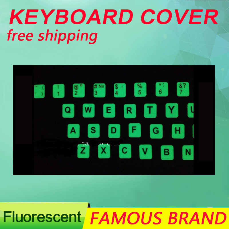 fa330f08ba1 Golooloo For laptop computer notebook English letter Luminous Fluorescent  keyboard stickers sticker cover nightlight