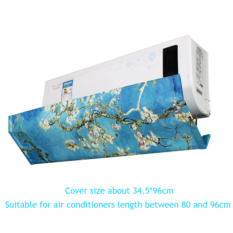 Image 5 - Adjustable Angle Air Conditioning Wind Shield Polyester Fabric for Home Bedroom Wall mounted Air Conditioner Deflect AQ118-in Air Conditioner Covers from Home & Garden