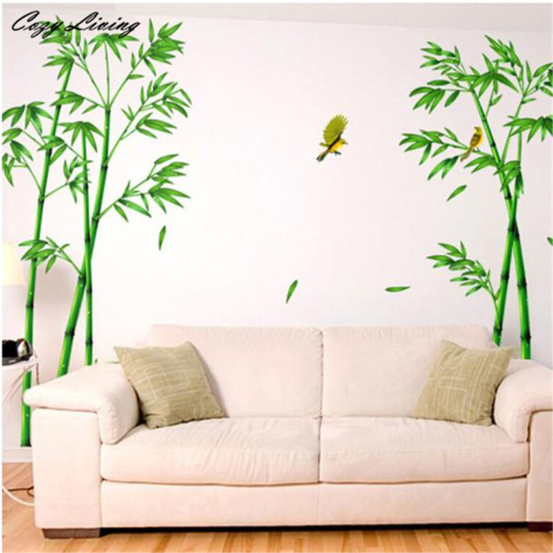 Popular bamboo forest poster buy cheap bamboo forest for Bamboo wallpaper for walls
