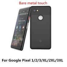 0.4 مللي متر رقيقة جدا لحقيبة جوجل بكسل 1 Pixel2 بيكسل 2 3 XL مع حامي شل متجمد لينة PP الهاتف الغطاء الخلفي كوكه