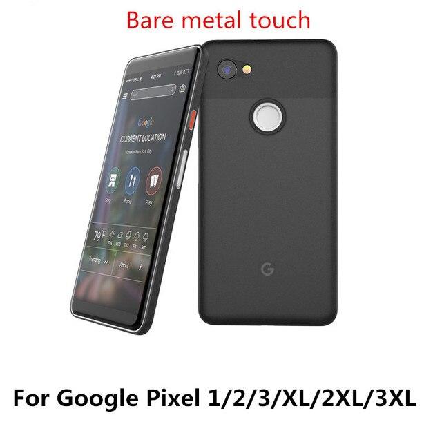 Capa ultrafina para google pixel, 0.4mm, 1 pixel2 pixel 2 3 xl, com concha protetora fosca coque traseiro do telefone dos pp macio