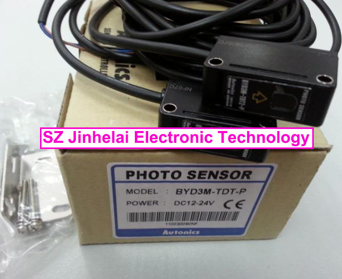 100% New and original  BYD3M-TDT-P  AUTONICS  PHOTOELECTRIC SWITCH   DC12-24V 100% new and original bx15m tdt t autonics