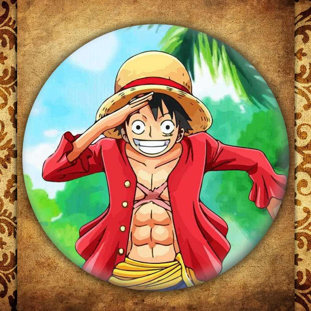 Anime One Piece Menampilkan Lencana Fashion Jepang Kartun Gambar Luffy Nami Roronoa Zoro Bros Pin Koleksi Tas Dekorasi
