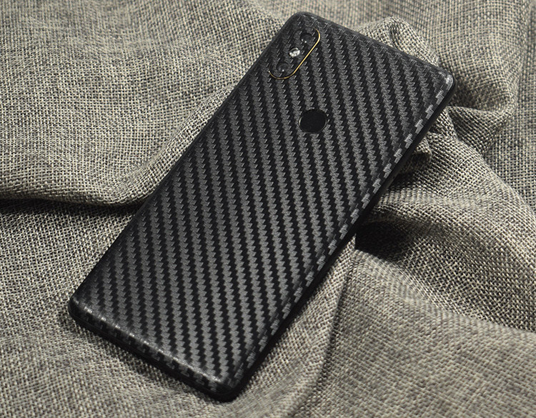 <font><b>3D</b></font> Carbon Fiber Wooden Skins Film Wrap Skin Phone Back Sticker For <font><b>Xiaomi</b></font> Play Mi9/MIX3/2S/Mi8 <font><b>SE</b></font>/Mi6X/<font><b>Redmi</b></font> 6 <font><b>Pro</b></font>/<font><b>Note</b></font> 5 <font><b>Pro</b></font> image