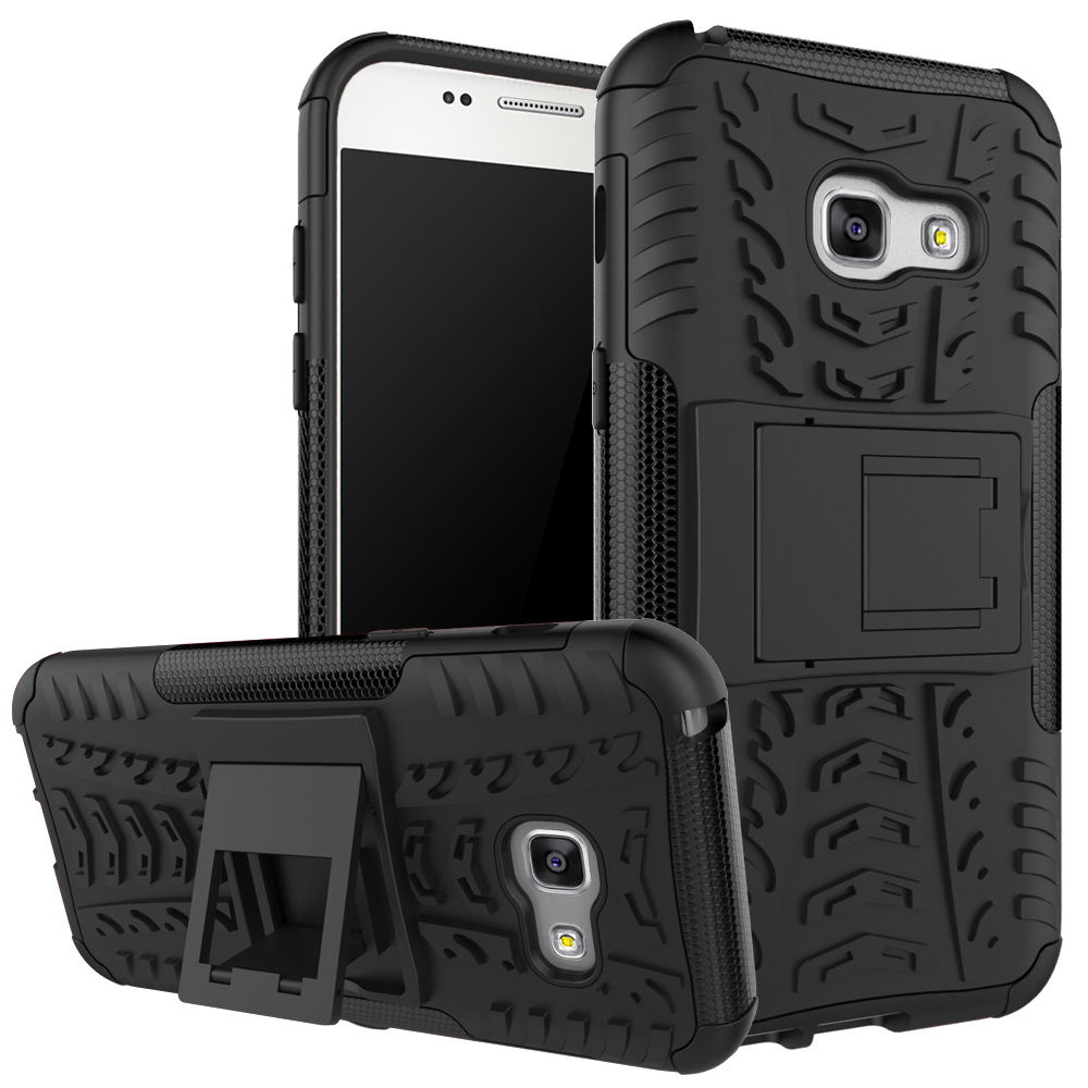 Heavy Duty Armor Case for Samsung Galaxy S8 S8Plus J1 Mini Ace J2 J3 J5 J7 Prime 2016 A3 A5 A7 2017 Tough Stand Coque Back Cover