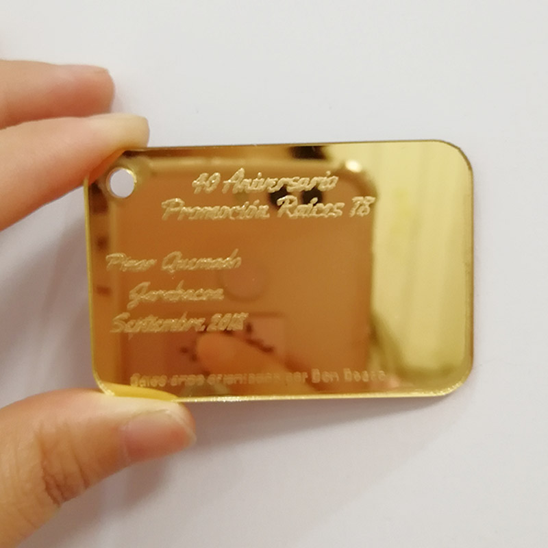 50pcs Personalized Engraved Acrylic Business Card VIP Visiting Card Promotion Raices Wedding Card Favors And Gifts For Guests