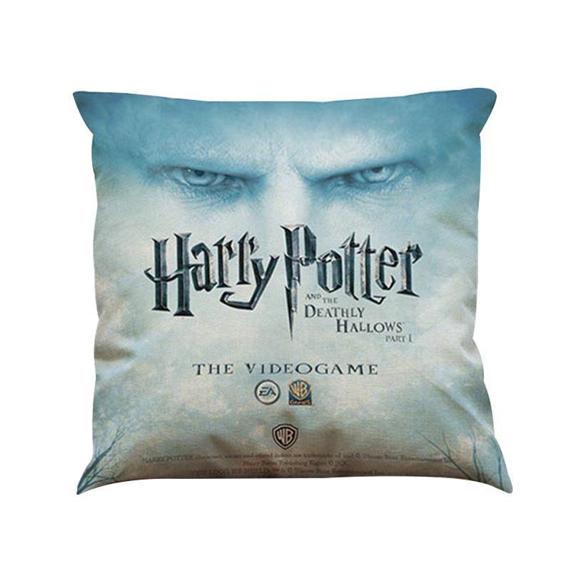 Harry Potter Pillow For Home Decor Waist Cushion Cover Hogwarts Death Geometrics Sign Movie Poster Sofa Throw Pillow Cases A10A