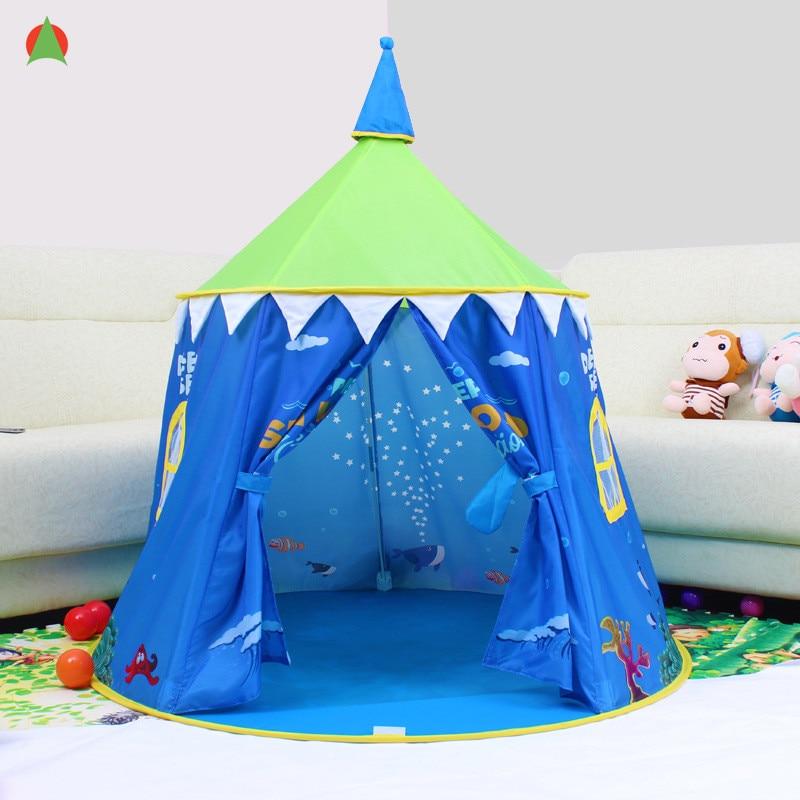 Enfants Portable tente enfants pliant jouer maison en plein air enfants jouet tente château tente
