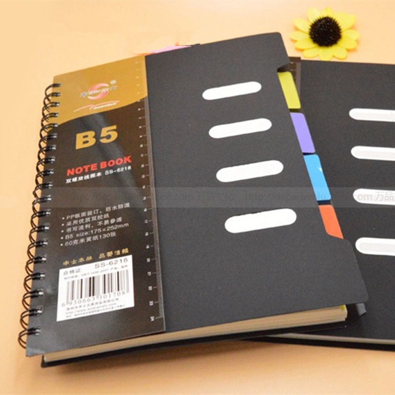 Retro Notebook B5 Big Size Forest Kawaii Spiral Coil Book Diary 130 Sheets Stationery Office School Supplies Caderno Escolar rights of the game notebook gift diary note book agenda planner material escolar caderno office stationery supplies gt105