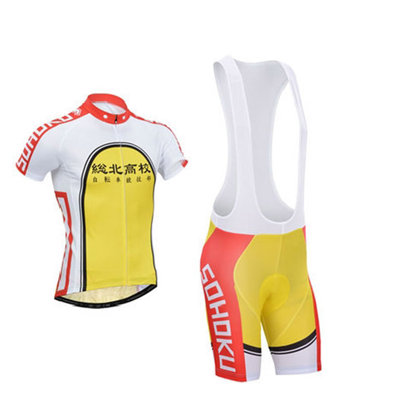 Yowamushi Pedal sohoku Maillot Cycling Jersey Bicycle Wear Ropa Ciclismo Rock Bicycle Uniform MTB Bike Clothing Cycling Clothes стоимость