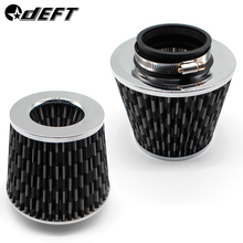 DEFT Car Universal Air Filter 3/4 inch for Cold Intake High Flow 65mm 70mm 76mm 100mm Performance Breather Filters
