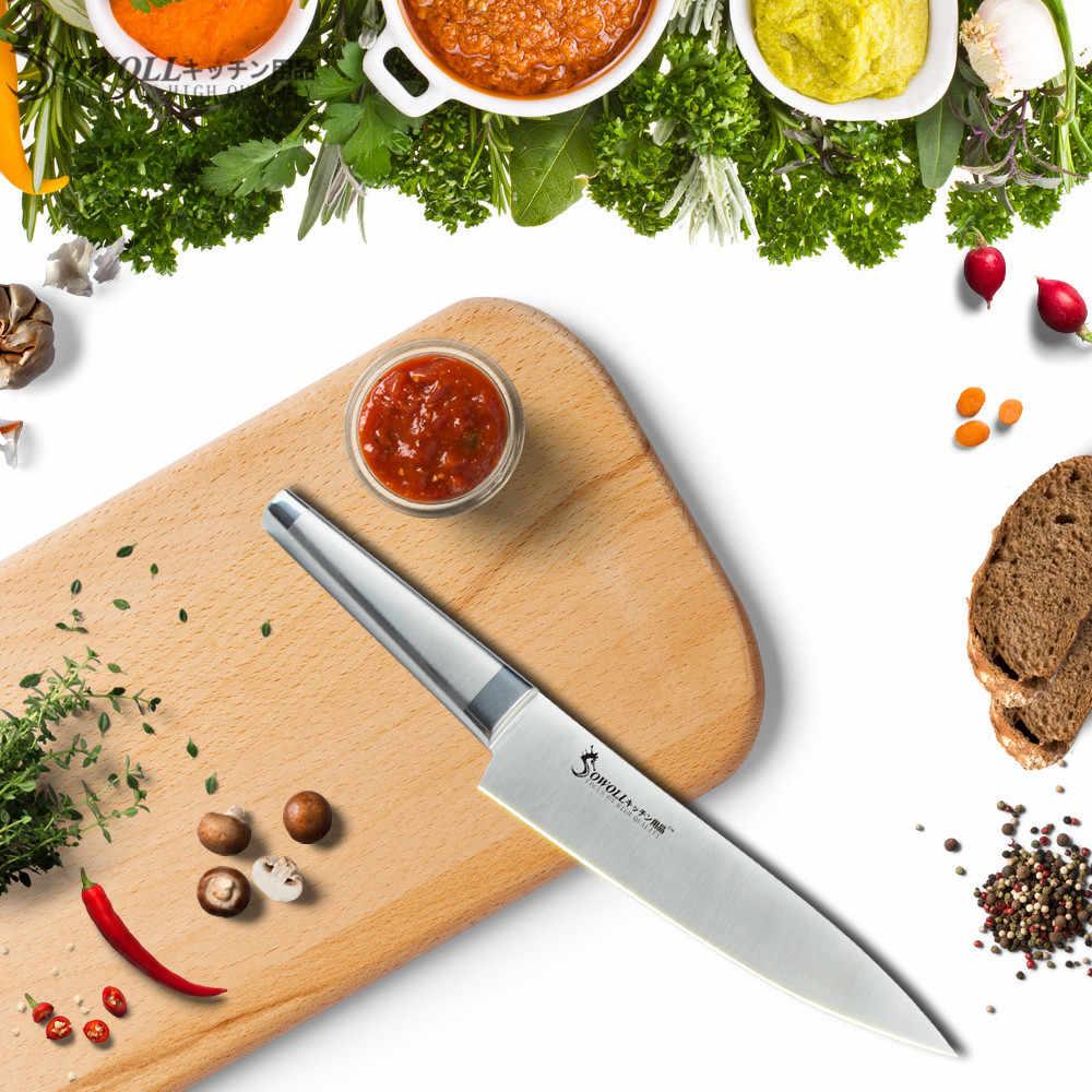 Бренд sowoll 8 дюймов лучший профессиональный нож шеф-повара нож из нержавеющей стали кухонный нож для приготовления пищи высококачественные кухонные аксессуары