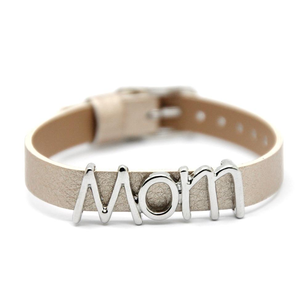 Legenstar Personality Slide Charm Bracelet Mom Alloy Diy Charm Bangles  Fashion Jewelry(china (mainland