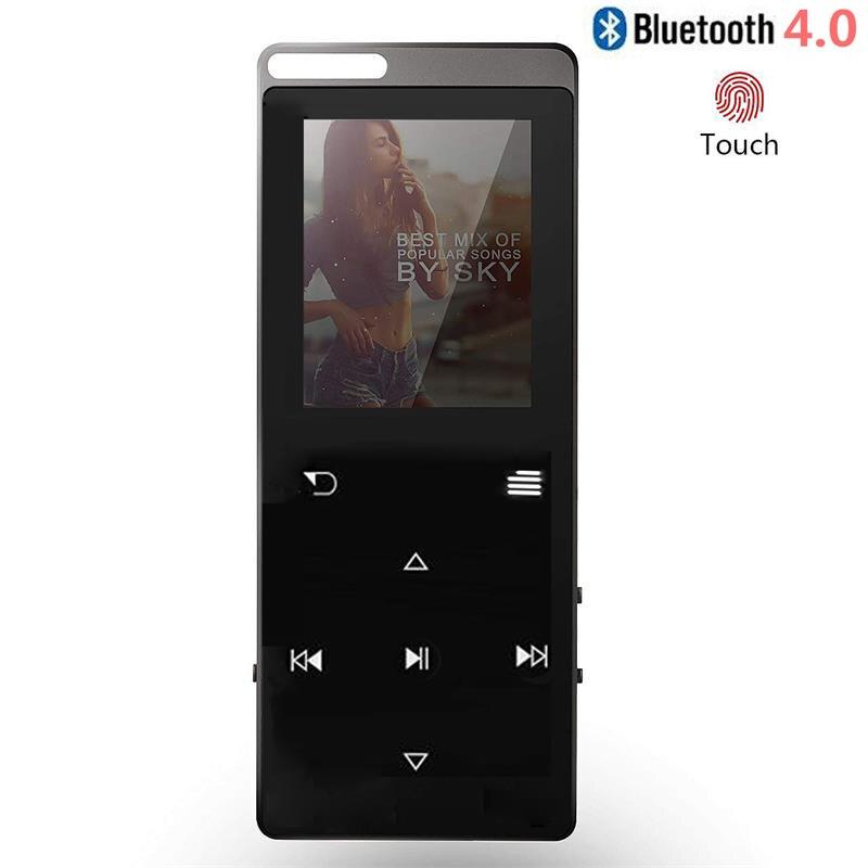 Tragbares Audio & Video Unterstützung Sd-karte Bis Zu 64g Preiswert Kaufen Touch Schlüssel Bluetooth Mp3 Player 16g With1.8 tft Bildschirm Volle Zink-legierung Lossless Hifi Mp3 Musik-player Unterhaltungselektronik