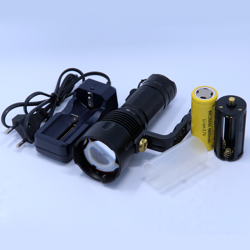 Zoomable CREE XM-L T6 lantern portable Hand lamp handlamp flashlight led flashlight rechargeable light &26650 Battery &Charger singfire sf 611c 600lm zoomable big lamp rechargeable headlight w cree xm l t6 charger battery