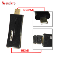 Nsendato UTV 007 USB2 0 To HDMI Video Catpure Card Converter USB 2 0 HD 1