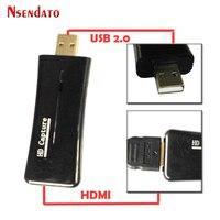 Nsendato UTV 007 USB2 0 To HDMI Video Catpure Card Converter USB 2 0 HD 1