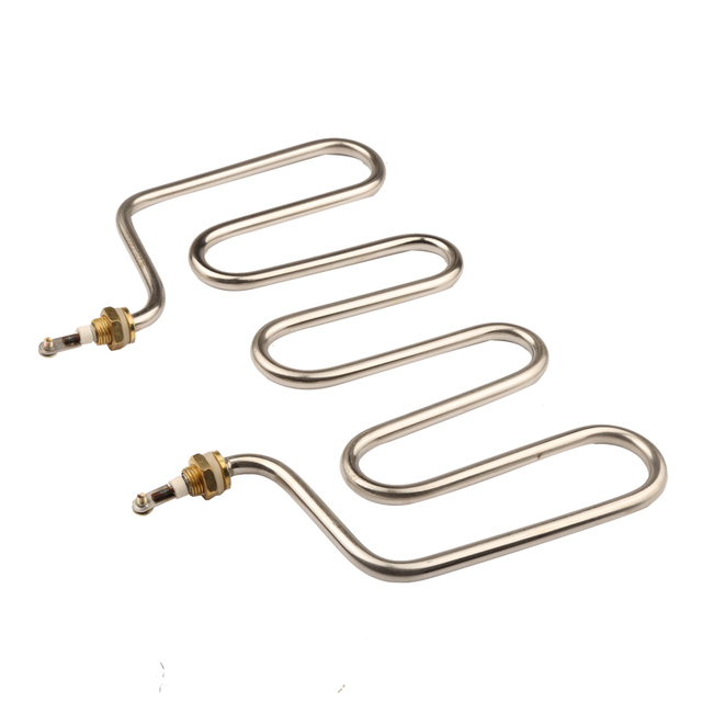 Isuotuo 4U Heating Element for Rice Steaming Cart, 220V 2KW Water Heater,Stainless Steel Heater Pipe