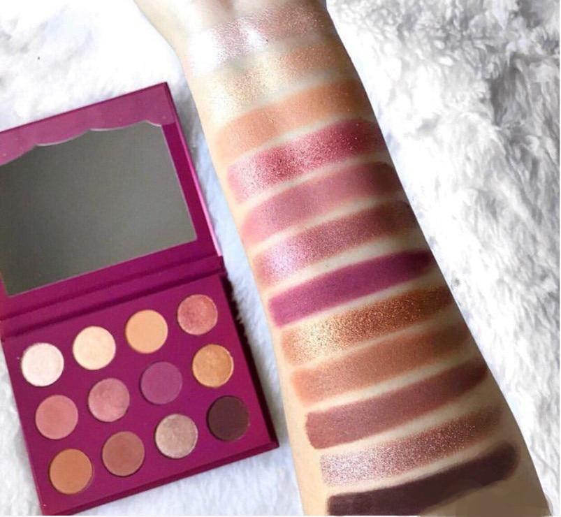 Colorpop 12 cores paleta de sombra maquiagem