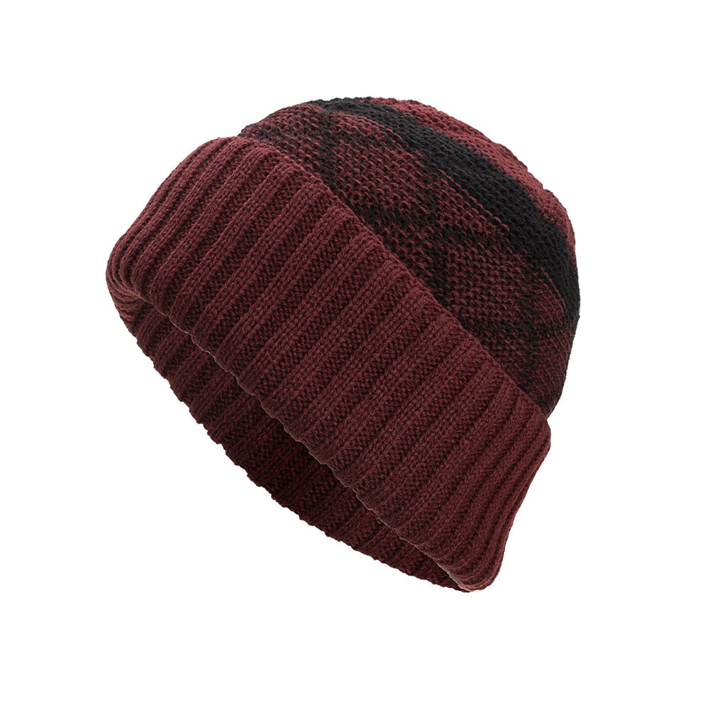 a7d4483e76c ... Cashmere Knit Beanie Men Warm Cap Women Baggy Weave Crochet Winter Wool  Knit Ski Skullies Beanie ...