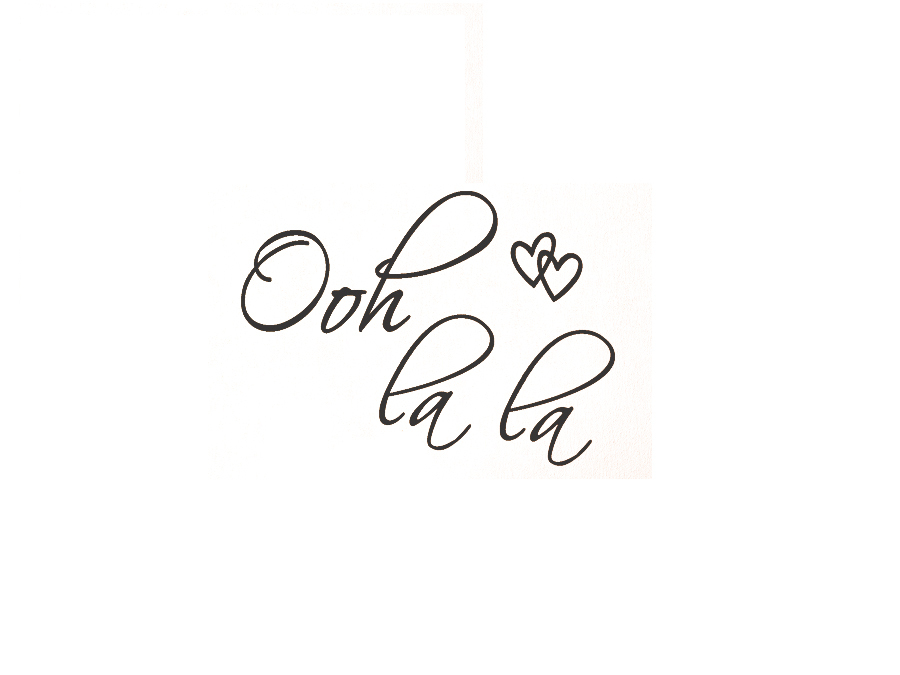 Ooh La Paris France Hearts Love Quote Vinyl Wall Decal Decor Art Sticker In Stickers From Home Garden On Aliexpress Alibaba Group