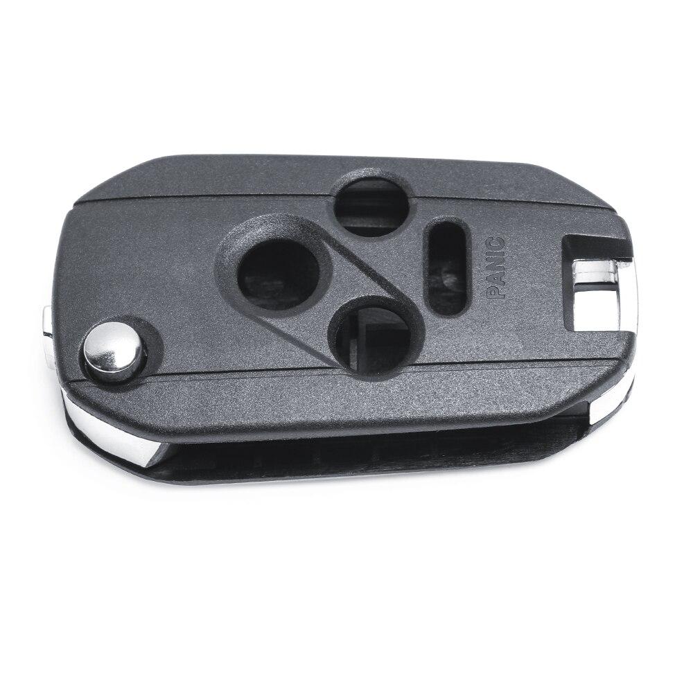 3+1B Modified Folding Remote Key Shell Case  for Subaru Legacy Outback 2006-2008