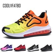 COOLVFATBO hommes femmes chaussures Air Bots Max 720 Ultra Boost chaussures décontractées hommes baskets 2019 marque de luxe formateurs chaussure sport d'été