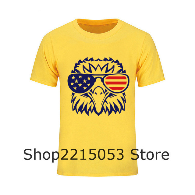 Tshirt Men American flag 4th of July Independence Day T Shirts Plus Size  Skateboard West 3d Male Harajuku Hipster Tee t-shirt 1a5da53e69c6