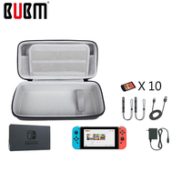 BUBM EVA case bag for SWITCH game console bag hard case carrying protection playstation handle bag