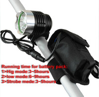 1800 Lumen CREE XM L T6 LED Bicycle Light Lamp With 8 4V 4 18650 Battery