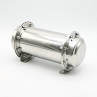 10 2 Stainless Steel Time Capsule Waterproof Lock Container Storage Future Gift