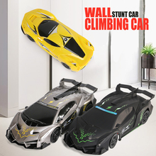 2019 Rc Cars for Kids 1:28 Remote Control Car Dual Mode 360 Rotate Stunt Rechargeable Wall Climbing Car